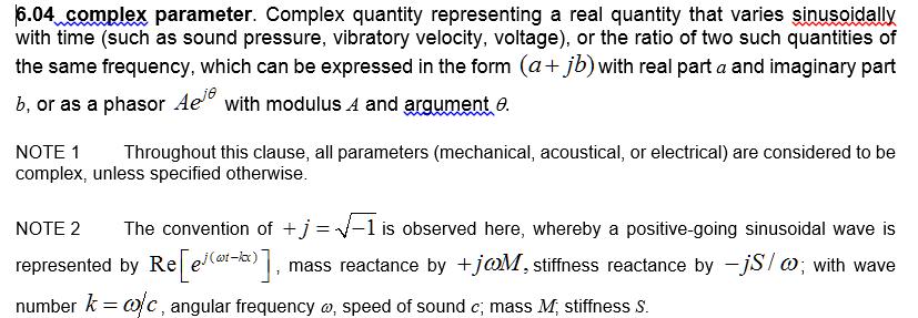 6.04 complex parameter